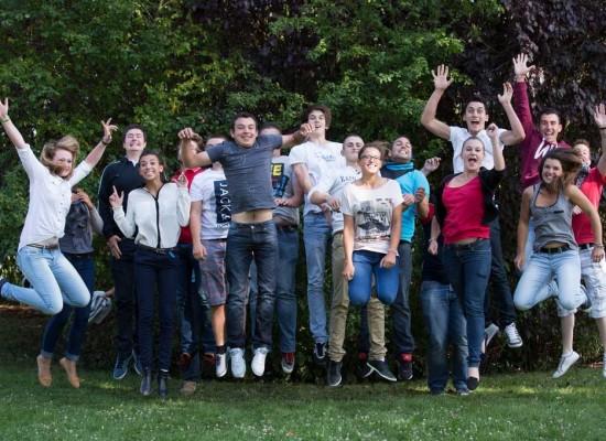 Les jeunes de la MFR de Noyant de Touraine